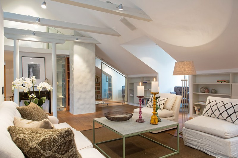 Scandinavian Design An Elegant Attic By Karlaplan HomeDSGN