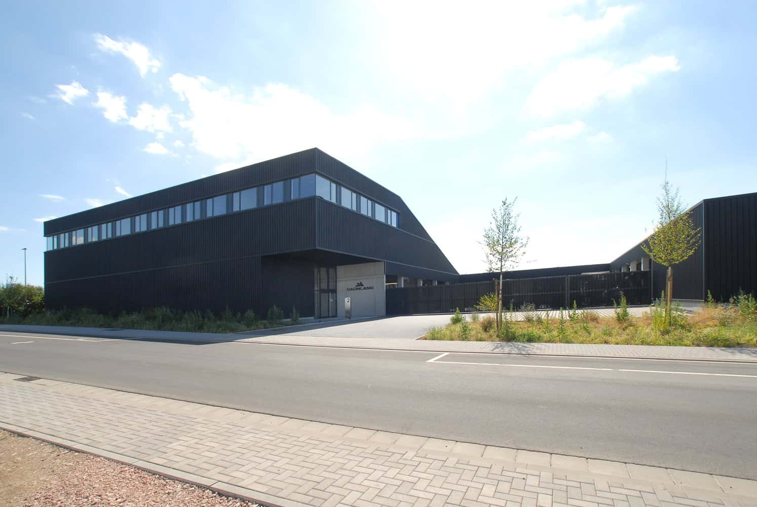 New Headquarters of the Dachland Offices in the City of Hechtsheim, Germany